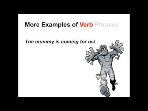 Verbs and Verb Phrases | Parts of Speech App