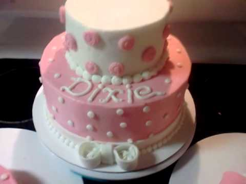 Girls first birthday cake!
