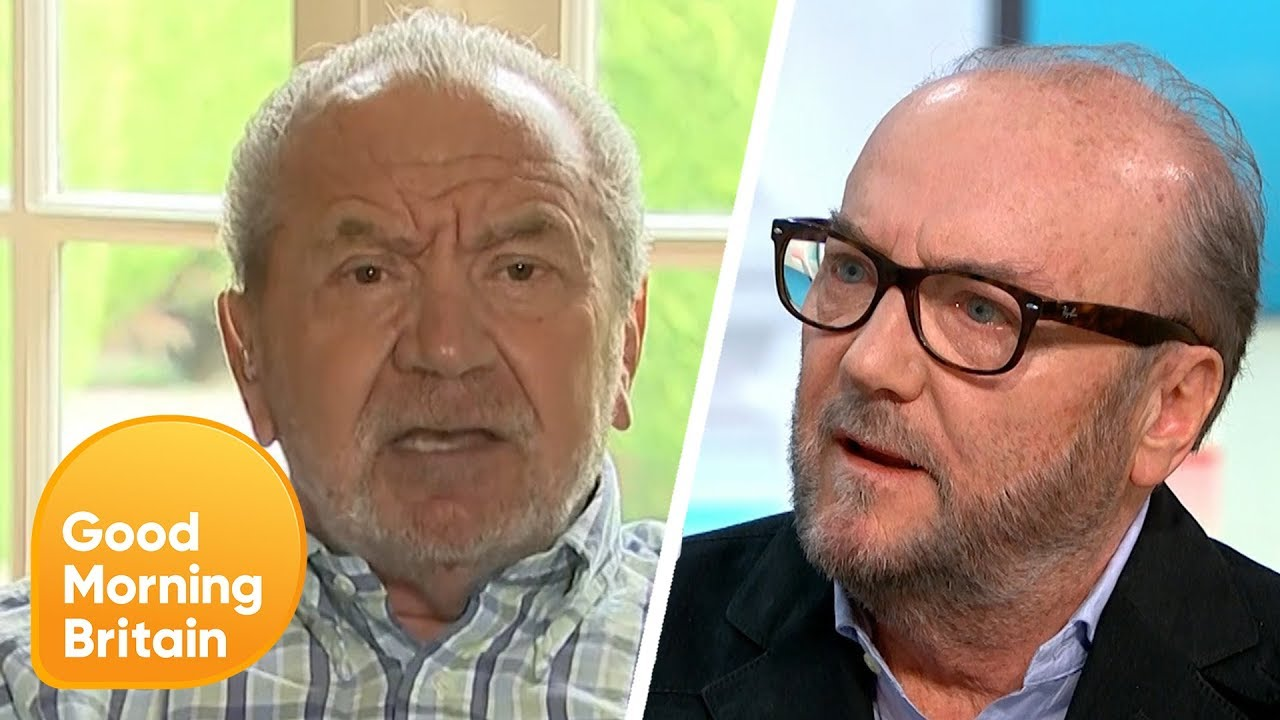 George Galloway Fired From talkRADIO After 'Anti-Semitic' Tweet   Good Morning Britain