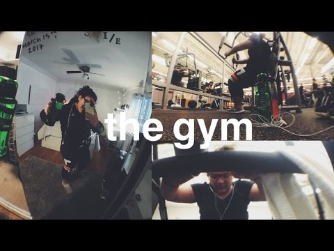the truth about going to the gym// gym routine