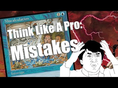 Think Like A Pro - Mistakes!