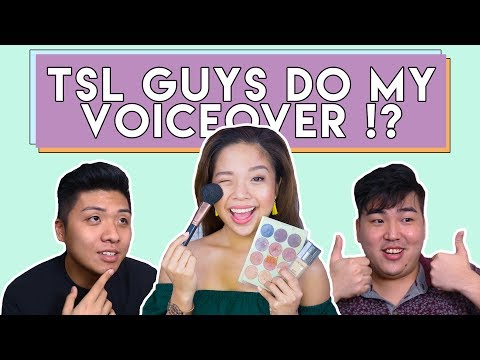 TSL GUYS DO MY MAKE-UP VOICEOVER | PrettySmart