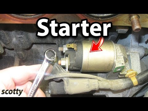How to Replace a Starter in Your Car