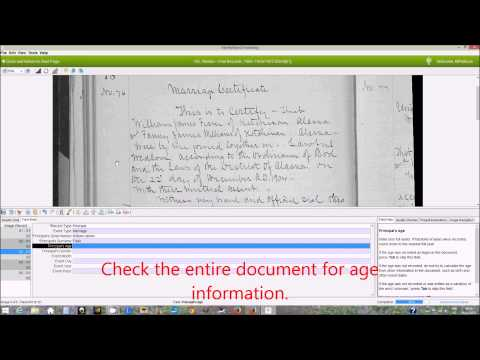 FamilySearch Indexing: How to Index Alaska Vital Records