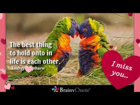 Love quotes slide show with your words to your loved ones.
