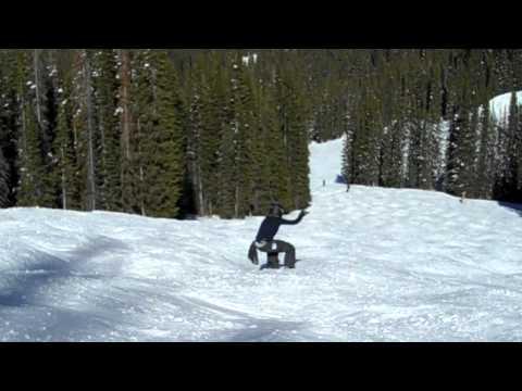 Joey riding bumps on iDropper, 2/13/11