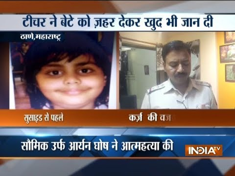 Maharashtra: Music teacher commits suicide after poisoning son to death in Thane
