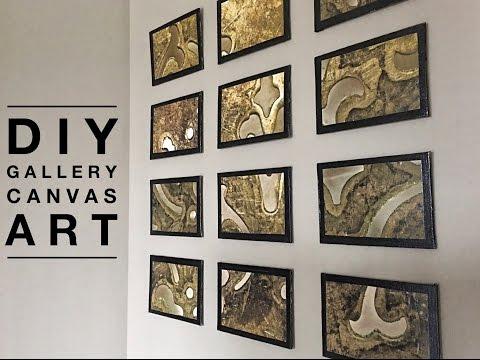 DIY | Gallery Photo Canvas Art | GraphicStock