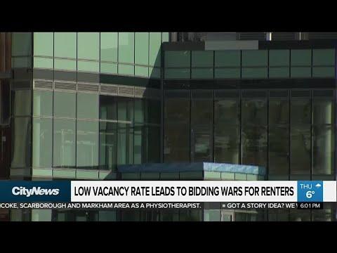 Rental bidding wars in Toronto