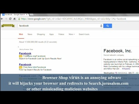 How to remove ads by Browser Shop and Easy Surf Virus