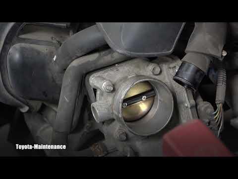 Toyota Matrix Throttle Body Inspection