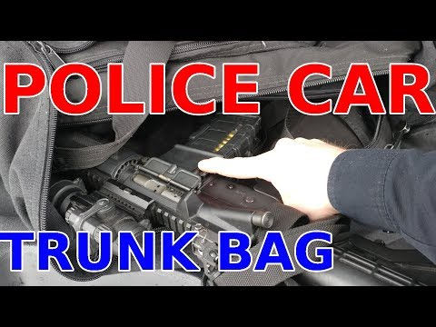 POLICE Car TRUNK Gear