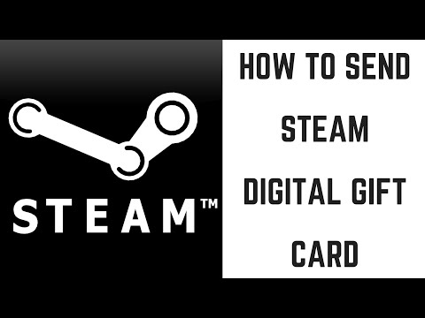 How to Send Steam Digital Gift Card