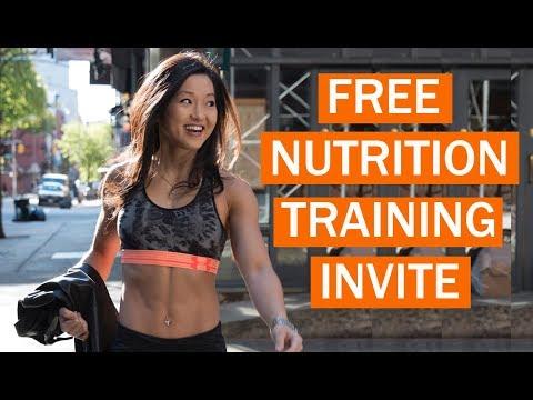 Free Nutrition Training Invitation / Dieting