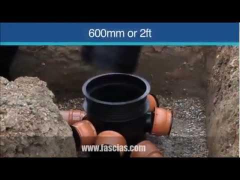 Floplast Underground Drainage System - Installation