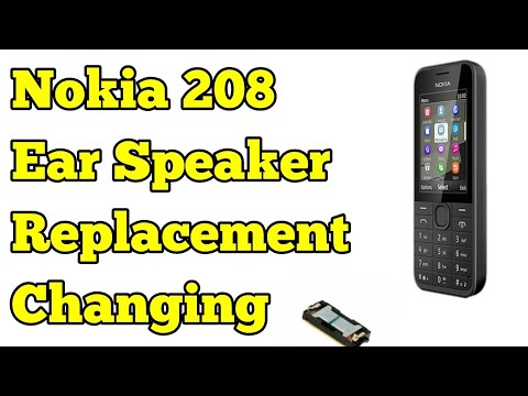 Nokia Ear Speaker Replacement/ Changing/Not Working