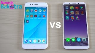 Oppo F5 vs Mi A1 Speed Test and Camera Compare