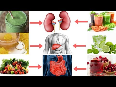 in 7 days all toxins will be flushed out follow just 5 detox drinks