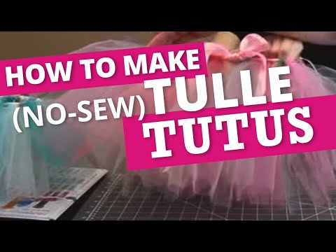 How to Make a Tulle Tutu | Nashville Wraps
