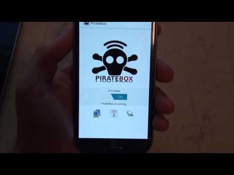 PirateBox for Android - Turn your phone into an offline media server and chat!