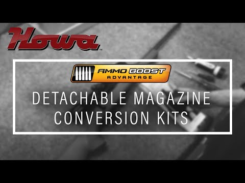 AMMO BOOST DETACHABLE MAGAZINE CONVERSION KITS-HOWA
