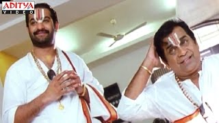 Brahmanandam & Ntr Hilarious Comedy Scenes In Judwa No1 Hindi Movie