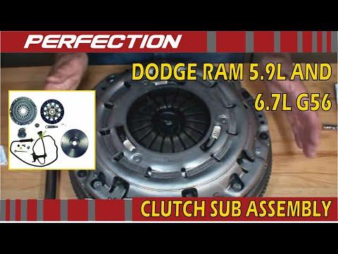 Dodge Ram 5.9L and 6.7L G56 Clutch Sub Assembly