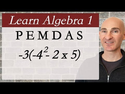 Order of Operations - PEMDAS (Learn Algebra 1)
