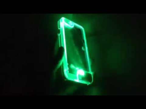LED Flash iPhone Cover Remind Incoming Call