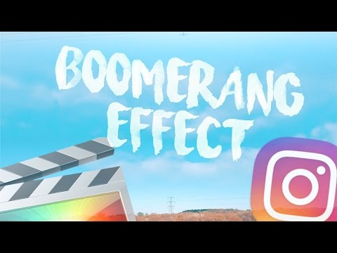 Instagram Boomerang Effect - Final Cut Pro X