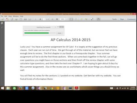 How to insert PDF's into Onenote