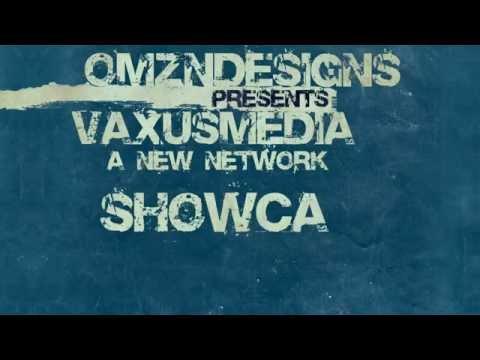 VaxusMedia Promo Typography Style
