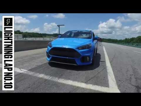 Ford Focus RS at Lightning Lap 2016