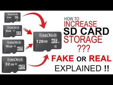 How to increase memory card storage From 4Gb to 128 Gb 100% Working By Hacking Future Technology