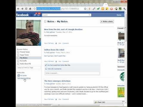 How to Import an RSS Feed to Facebook