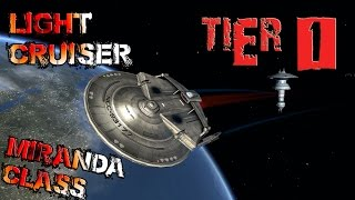 Miranda Class, Light Cruiser [T1] with all ship visuals - Star Trek Online