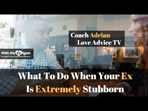 My Ex Is Stubborn What Should I Do To Get Them Back: How To Get A Stubborn Ex Back Permanently