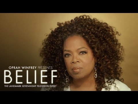 Oprah on Believing In Something Bigger Than Yourself | Belief | Oprah Winfrey Network