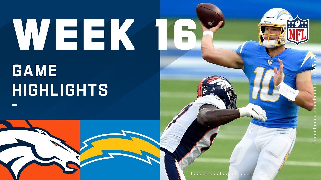 Broncos vs. Chargers Week 16 Highlights | NFL 2020