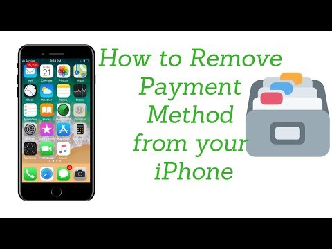 How to remove payment method on your iPhone *2018*