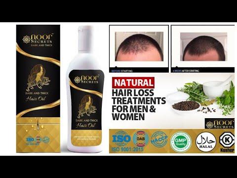 NOOR SECRETS HAIR OIL FOR HAIR LOSS   NATURAL & ORGANIC