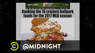 Innovative Deep-Fried American Foods - @midnight with Chris Hardwick