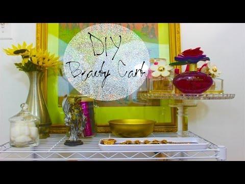 DIY Makeup & Beauty Organizer #DIYGawd