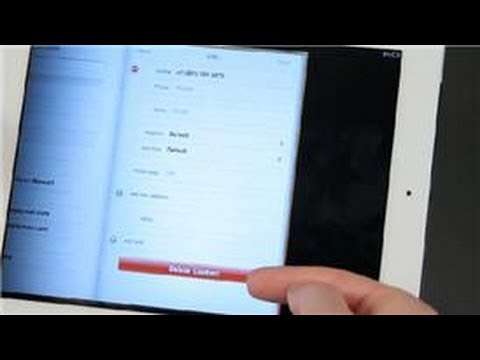 iPad Tips : How to Remove Mail Contact From iPad App