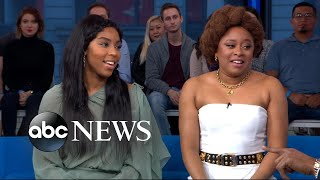 Download Jessica Williams and Phoebe Robinson open up about the end of '2 Dope Queens' | GMA Video