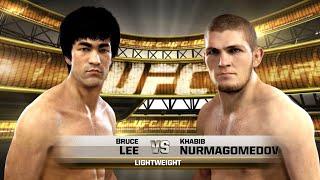UFC 이소룡 vs 하빕 누르마고메도프