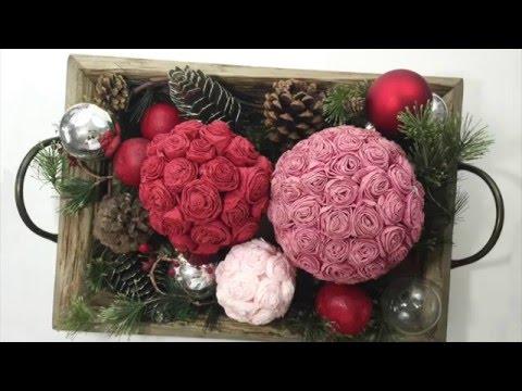 Tissue Paper Roses Youtube