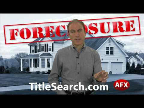 How can you tell if a property has liens on it?   AFX