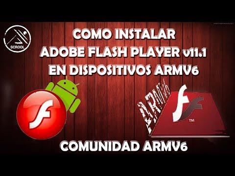 Como instalar Adobe Flash Player v11.1 en Android 2.3+ ARMV6 ROOT