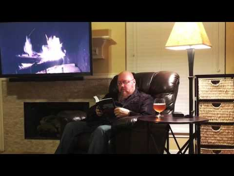 Frank Hart Reads His Book by the Fireplace (Part One)